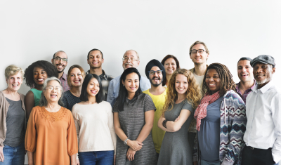 group of diversity people